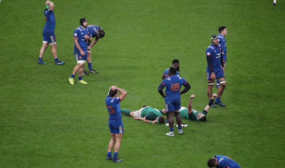 international france derrière les fidji au classement World Rugby xv de départ 15