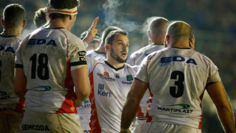 top 14 oyonnax saison terminée pour Audy rugby france xv de départ 15