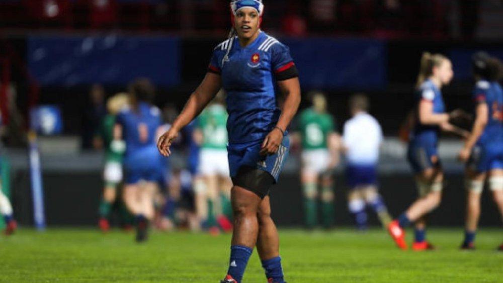 tournoi 6 nations féminin les bleues pour affronter l'italie rugby france xv de départ 15
