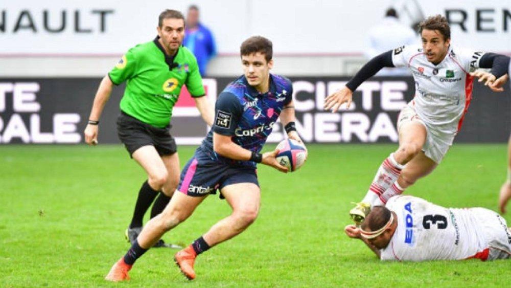 top 14 rugby arthur coville prolonge france xv de départ 15 stade français