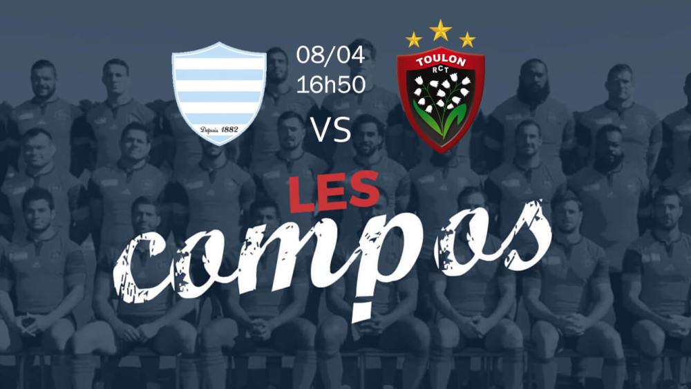 racing 92 v toulon compositions équipes rugby france top 14 xv de départ 15
