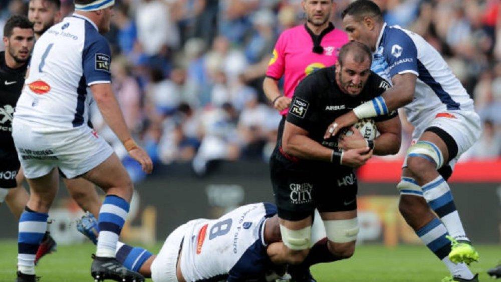 top 14 barrage castres a dominé toulouse rugby france xv de départ 15