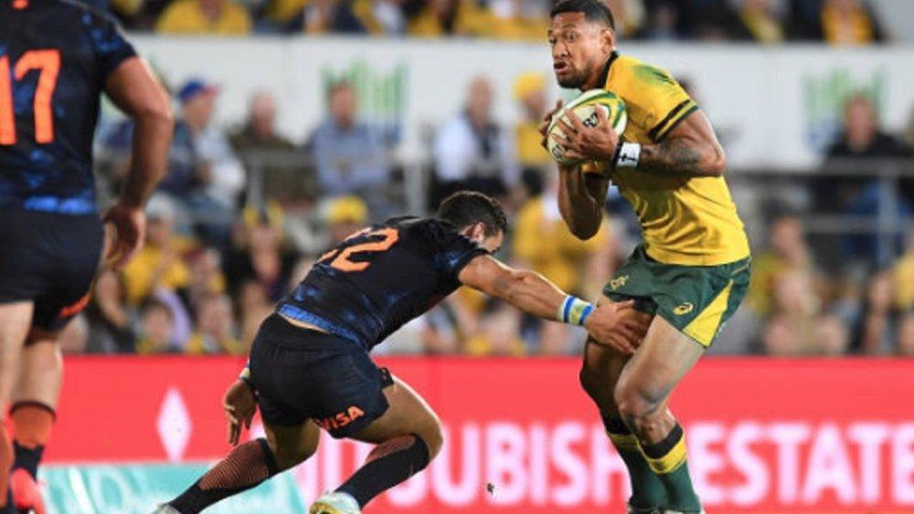 australie folau tituaire au centre rugby international xv de départ 15