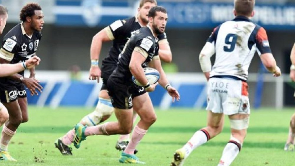 top 14 montpellier immelman absent 6 semaines rugby france xv de départ 15