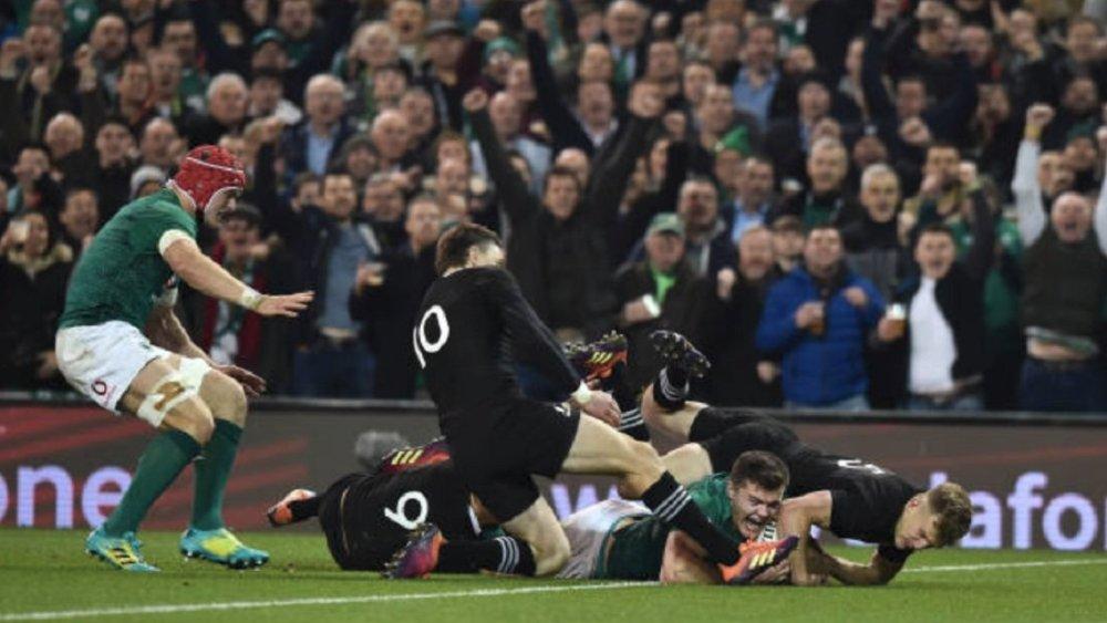 l'irlande répond à l'appel rugby international xv de départ 15