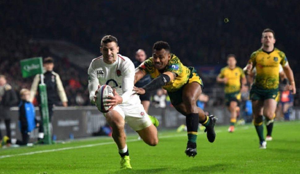 l'angleterre bat une fois de plus l'australie rugby international xv de départ 15