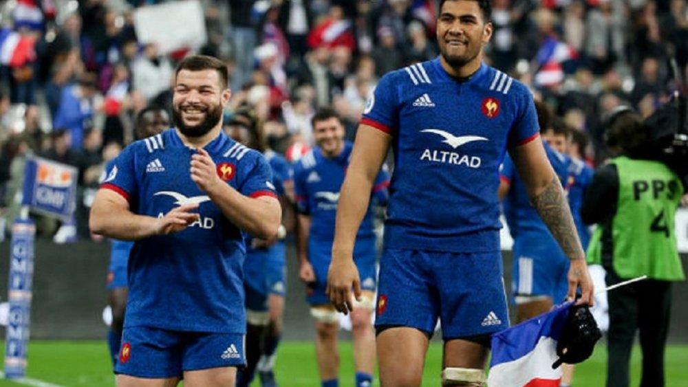 bleus vahaamahina de retour à l'entrainement rugby xv de départ 15