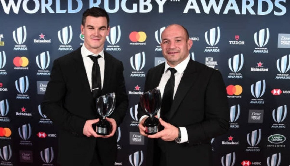 world rugby awards l'irlande rafle tout rugby international xv de départ 15