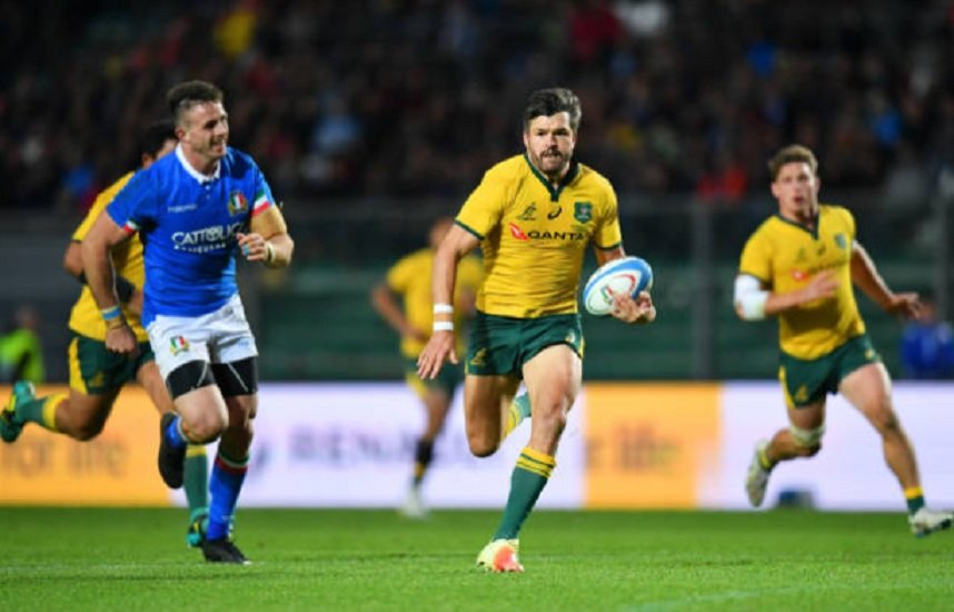 australie ashley-cooper de retour aux waratahs rugby international xv de départ 15