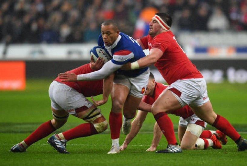 bleus gaël fickou associé à romain ntamack rugby 6 nations xv de départ 15