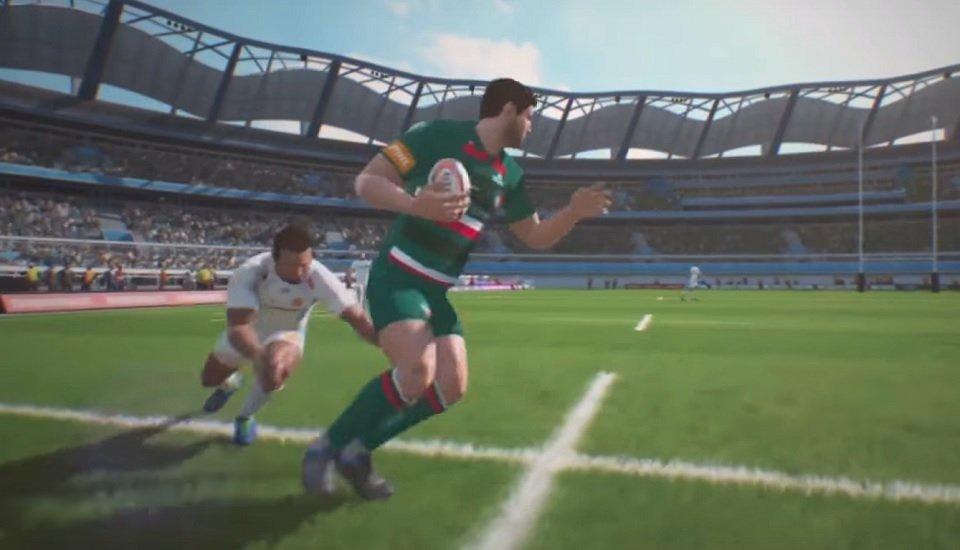 rugby gaming un nouveau jeu vidéo pour le mondial rugby international xv de départ 15