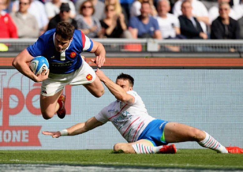 amical france italie diffusé sur tf1 rugby france xv de départ 15