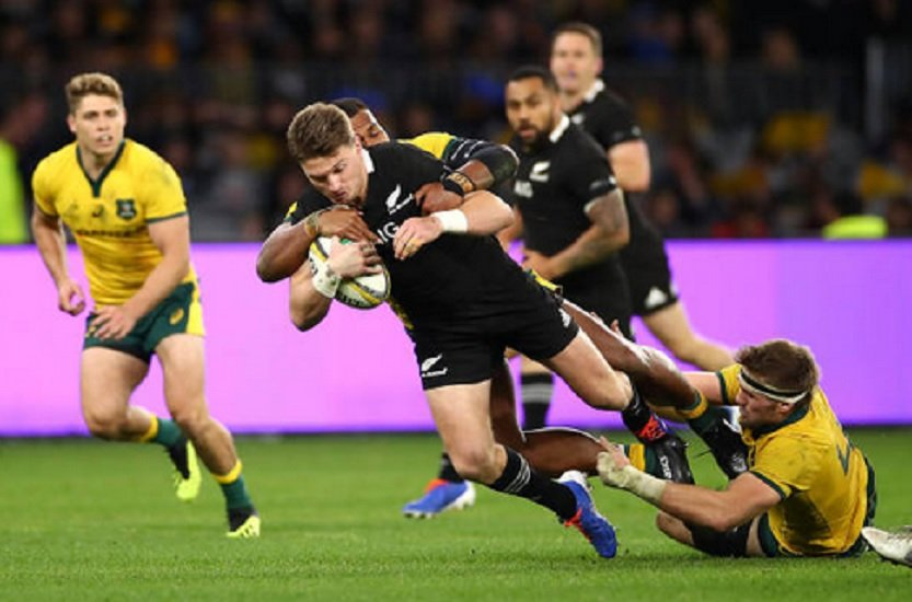 4 nations les all blacks tombent en australie rugby international xv de départ 15