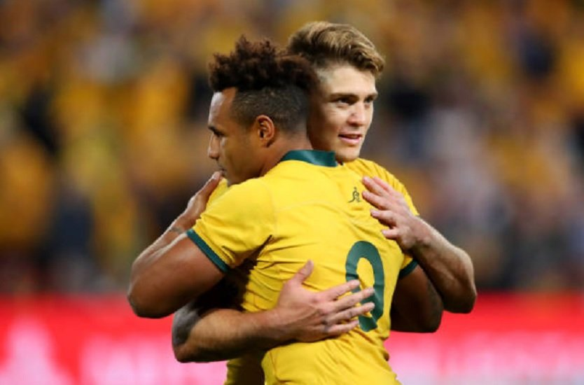australie james o'connor tituaire rugby international xv de départ 15