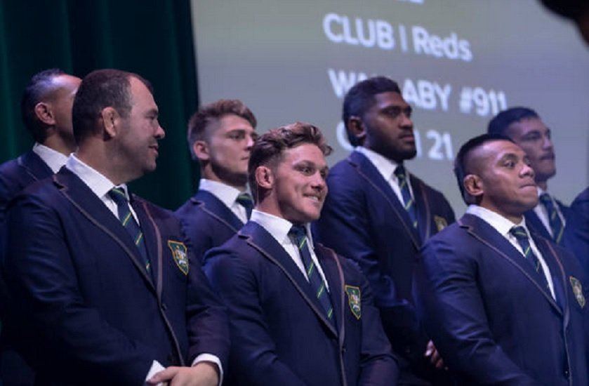 australie le groupe pour le mondial dévoilé rugby international xv de départ 15