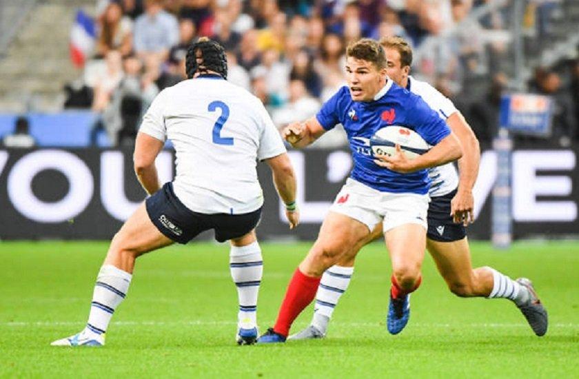 une victoire contrastée pour les bleus rugby france xv de départ 15