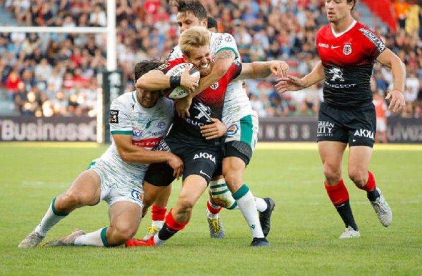 toulouse ne se rassure pas bayonne vainqueur à 14 castres s'en sort bien rugby xv de départ 15