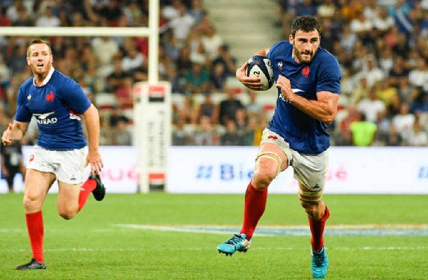 bleus charles ollivon revenu de nulle part rugby france xv de départ 15