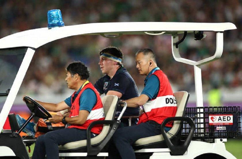ecosse hamish watson touché au genou coupe du monde rugby xv de départ 15