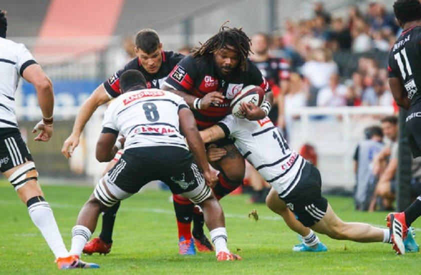 top 14 lyon écrase brive bayonne passe la seconde clermont bousculé rugby france xv de départ 15