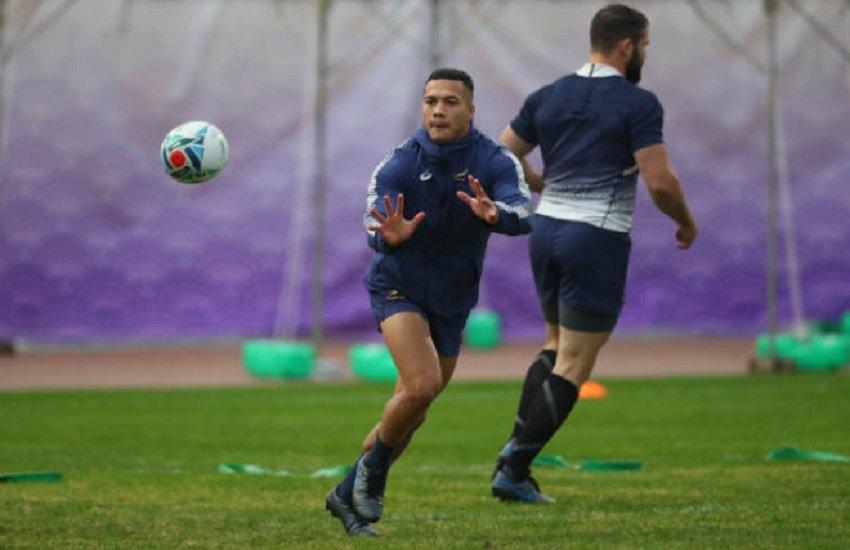 afrique du sud cheslin kolbe de retour à l'entrainement rugby coupe du monde xv de départ 15