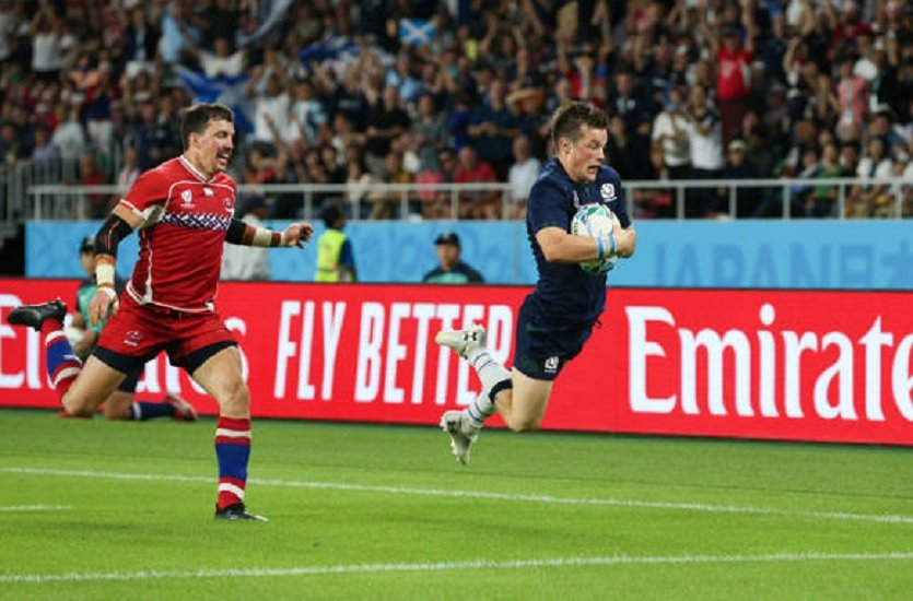 l'écosse est toujours dans la course rugby coupe du monde xv de départ 15