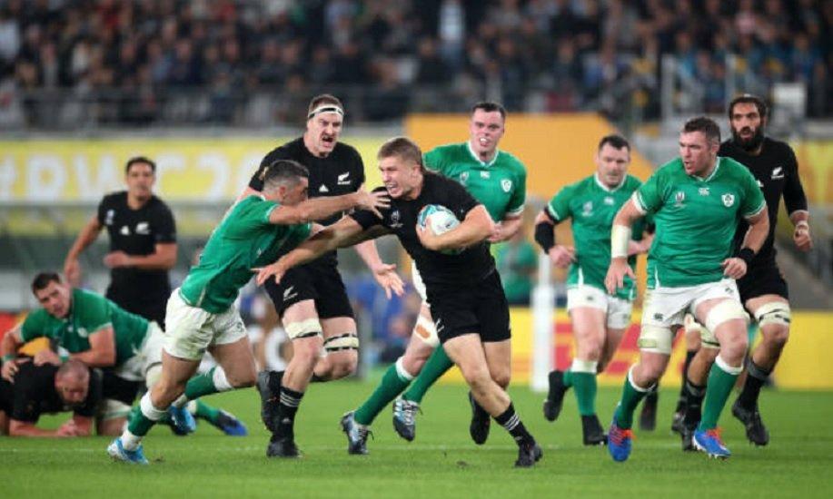 la nouvelle zélande écrase l'irlande rugby coupe du monde xv de départ 15