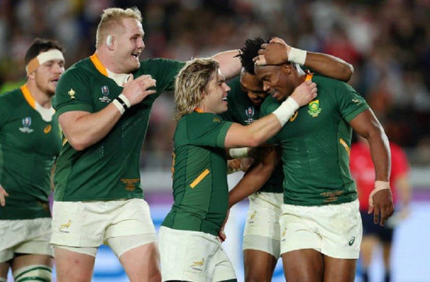 les springboks sont champions du monde rugby coupe du monde xv de départ 15