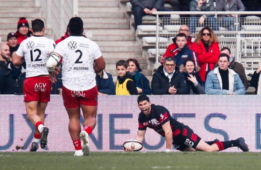 top 14 fin de série pour Toulon à lyon rugby france xv de départ 15