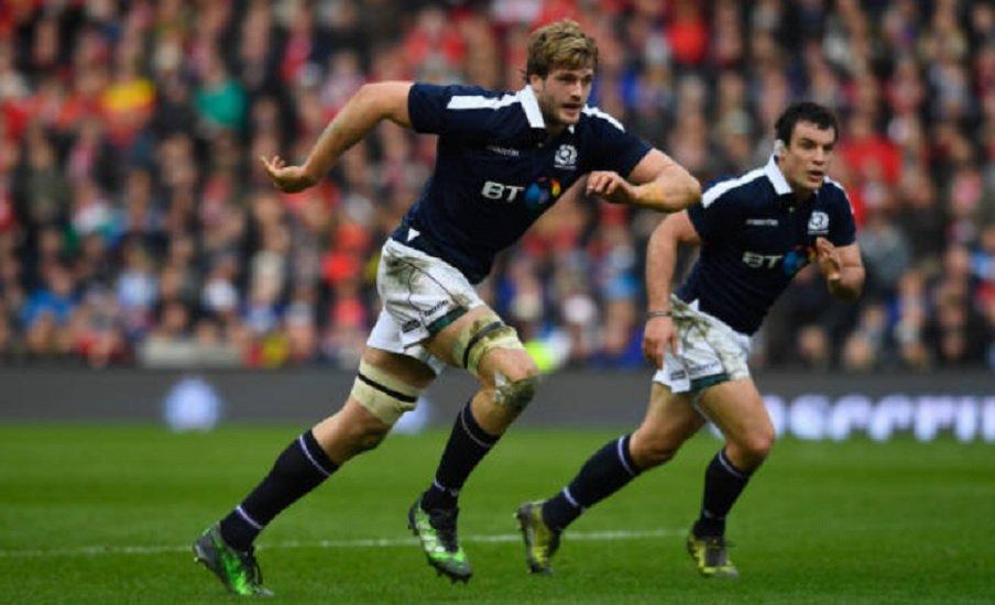 transfert toulouse richie gray va retourner en écosse rugby france xv de départ 15