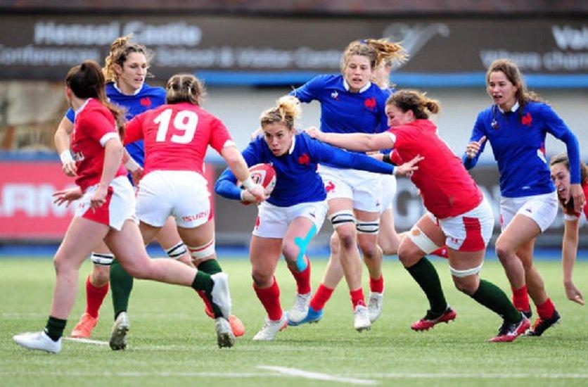 bleues le groupe pour préparer l'écosse rugby 6 nations féminin xv de départ 15
