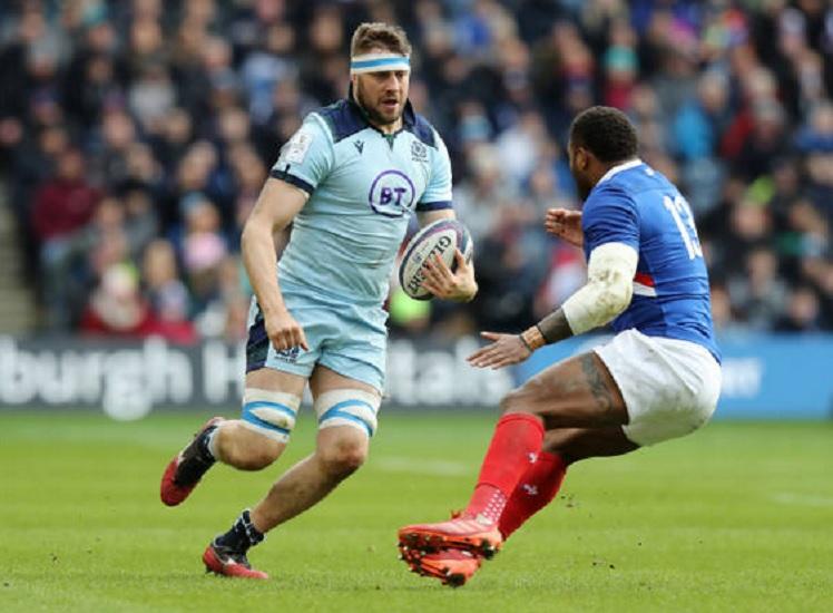 écosse nick haining ne sera pas cité pour son geste sur haouas rugby 6 nations xv de départ 15