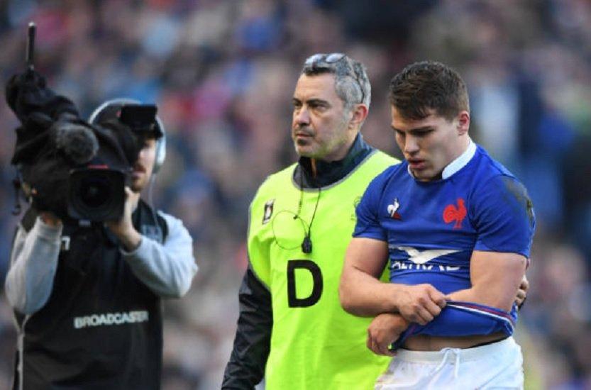bleus antoine dupont forfait face à l'irlande rugby france xv de départ 15