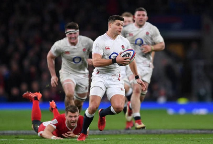 l'angleterre en poursuite six nations xv de départ 15