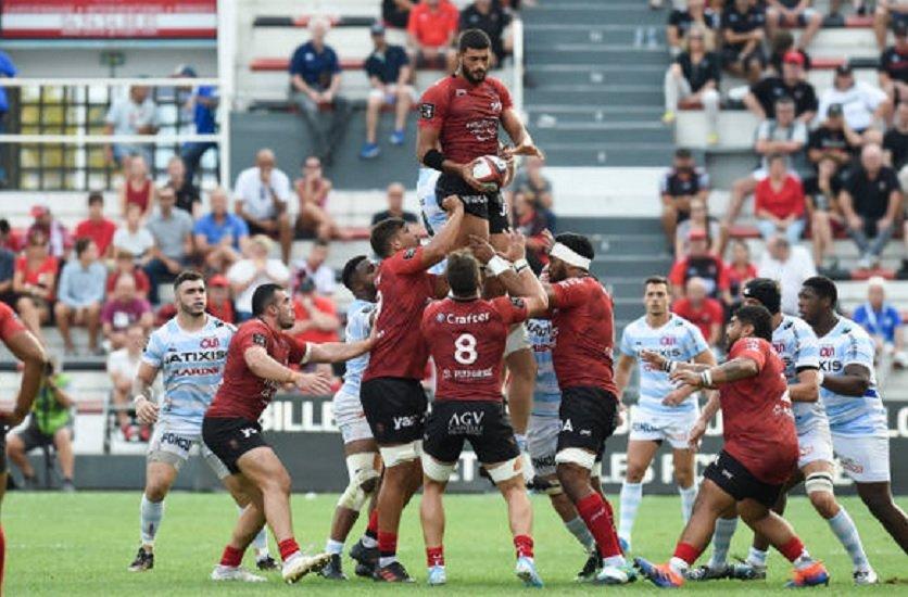 reprise progressive au rct rugby france xv de départ 15