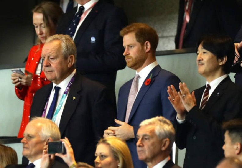 angleterre le prince harry contre le swing low, sweet chariot rugby international xv de départ 15