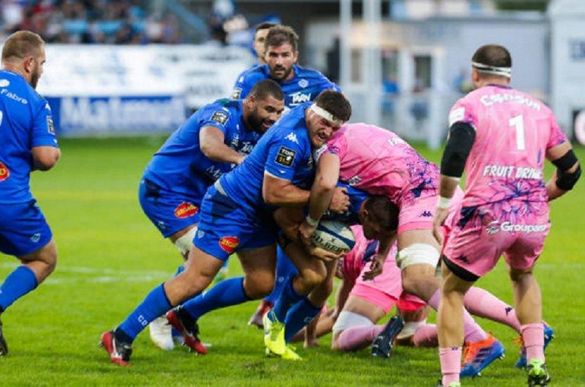 top 14 castres stade français paris rugby france xv de départ 15