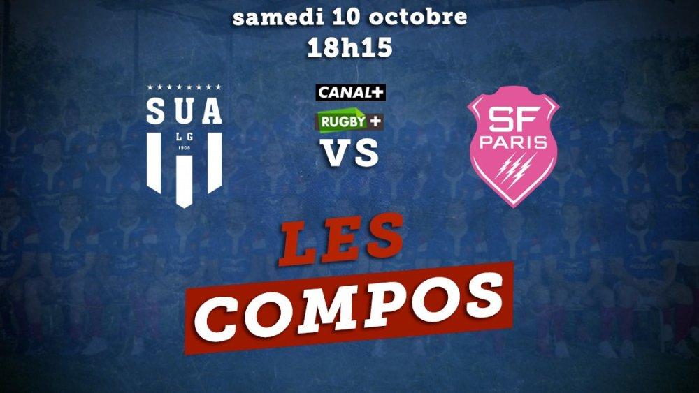 top 14 les compositions agen vs stade français rugby france xv de départ 15