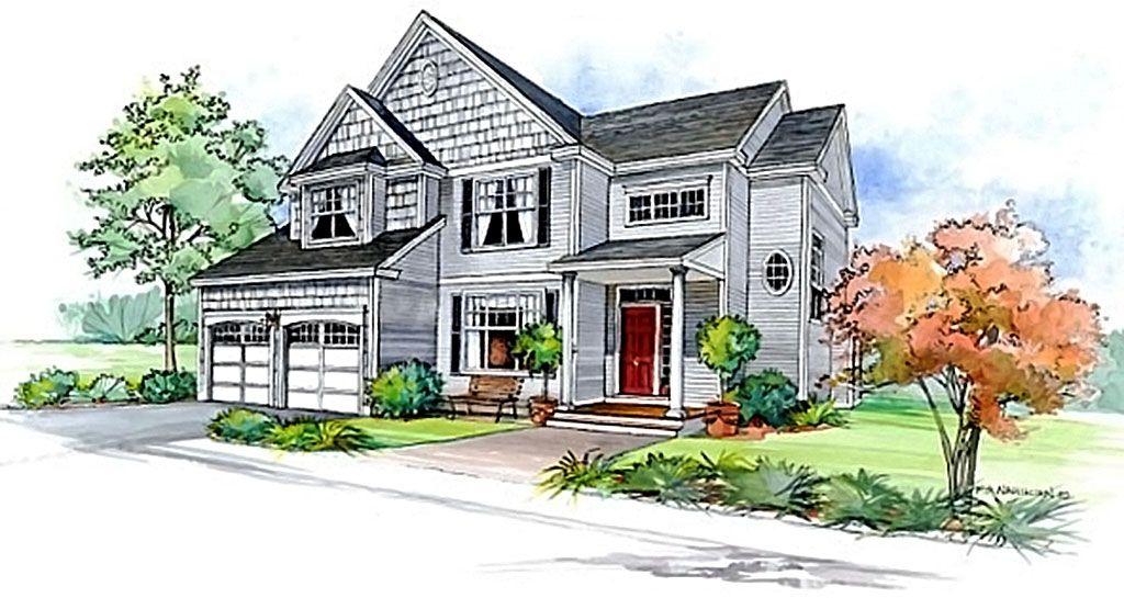 Test psicol gico de personalidad dibuja una casa ley de la atracci n positiva - Dibujos de casas modernas ...