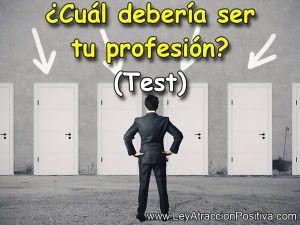 ¿Cuál debería ser tu profesión? (Test)