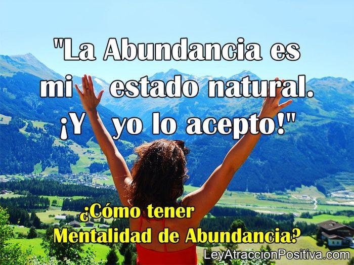 ¿Cómo tener Mentalidad de Abundancia?