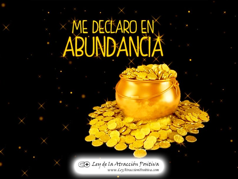 """¡Me Declaro en Abundancia!"""