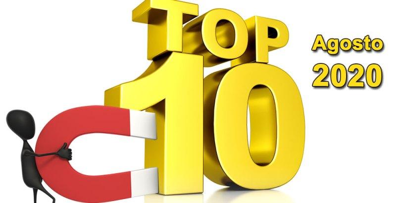 Top 10 Agosto 2020