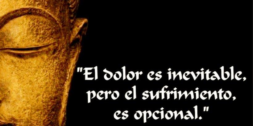 """""""El dolor es inevitable, pero el sufrimiento es opcional."""" Budha"""
