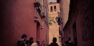 Calle Bécquer, en Toledo. Visita guiada