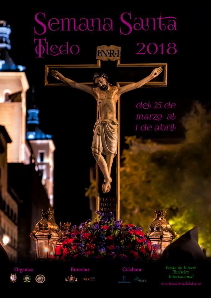 Cartel Semana Santa Toledo 2018 por Rafael Viejo Zaragoza