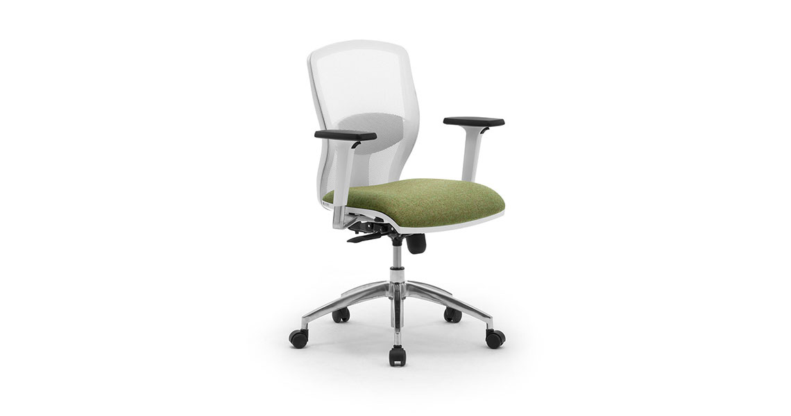 white mesh office chair uk leather patch or grey task chairs with on the back leyform w