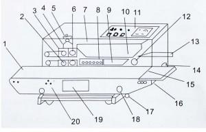 Continuous Sealing Machine Sealer Horizontal PVC Membrane