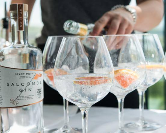 Gin and Jazz in Thurlestone