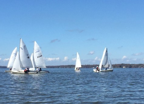 Boats on Lake Eustis